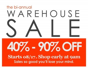 warehouse sale sign 08-17-13
