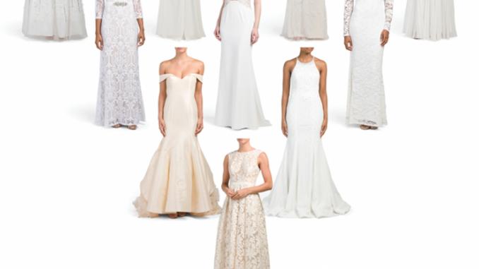 TJ Maxx The Wedding Shop JessicaShopscom - Tj Maxx Wedding Dress