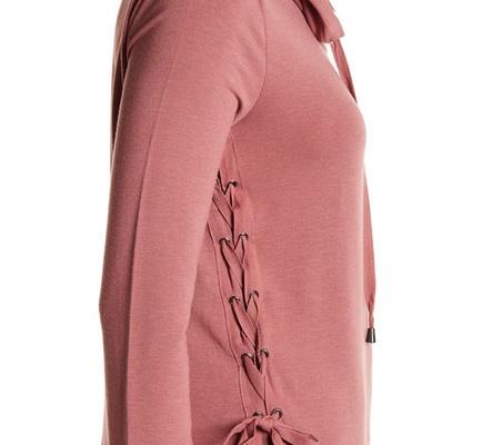 Cowl Neck Pullover $17