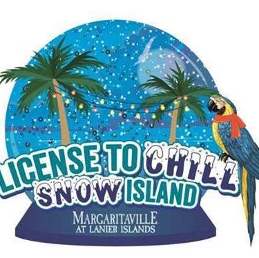 Lanier Islands License to Chill Snow Island