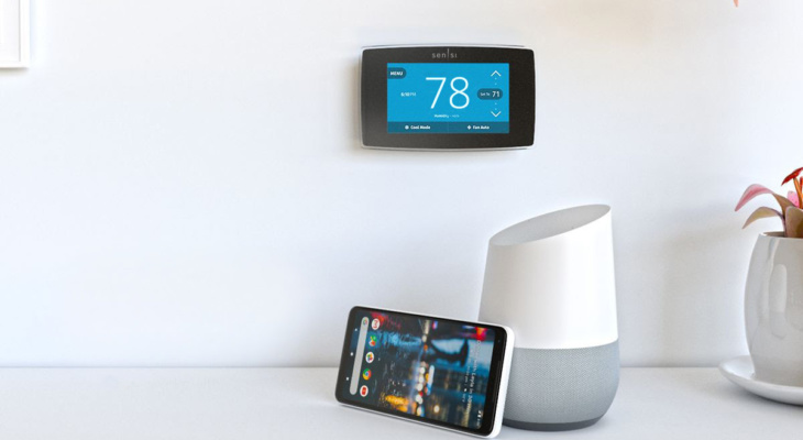 Two smart thermostats, one great sale 50% off