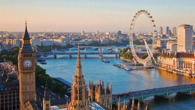 Three places to stay near London