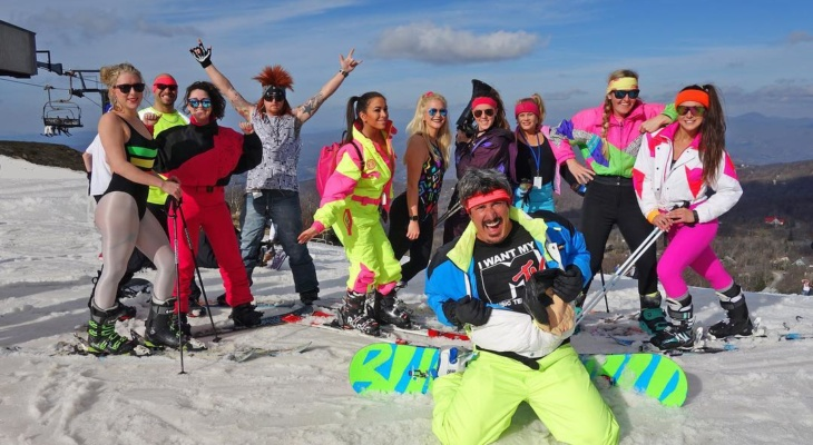 80s Retro Ski Weekend Announced