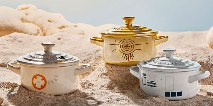 Le Creuset Just Launched a 'Star Wars'-Themed Cookware Collection
