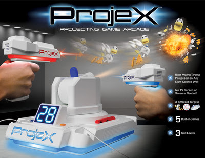 The Projecting Gaming Arcade